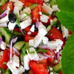Akdeniz salatası tarifi ve yapılışı