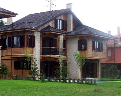 Prefabrik ev ve villalar