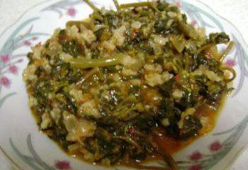 Pirinçli semizotu yemeği tarifi ve yapımı