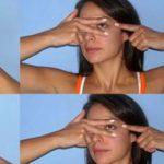 Yüz egzersizleri ile kırışıksız ince bir yüz