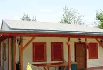 Tek katlı prefabrik ev ve villalar