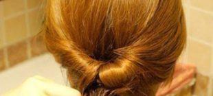 Topuz saç yapımı